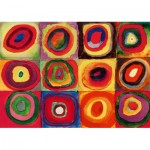 Puzzle  Art-by-Bluebird-Puzzle-60035 Kandinsky - Colour Study, 1913