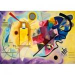 Puzzle  Art-by-Bluebird-Puzzle-60036 Kandinsky - Gelb-Rot-Blau, 1925