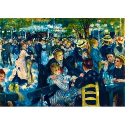 Puzzle Art-by-Bluebird-Puzzle-60049 Renoir - Dance at Le Moulin de la Galette, 1876