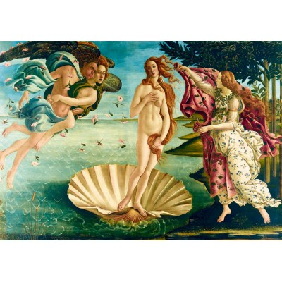 Puzzle Art-by-Bluebird-Puzzle-60055 Botticelli - The birth of Venus, 1485
