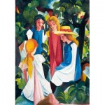 Puzzle  Art-by-Bluebird-Puzzle-60082 August Macke - Four Girls, 1913