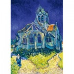 Puzzle  Art-by-Bluebird-Puzzle-60089 Vincent Van Gogh - The Church in Auvers-sur-Oise, 1890