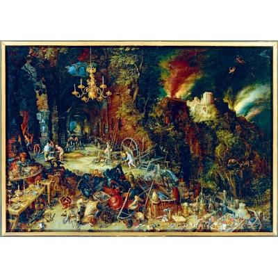 Puzzle Art-by-Bluebird-Puzzle-60091 Jan Brueghel the Elder - Allegory of Fire, 1608