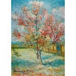 Puzzle  Art-by-Bluebird-Puzzle-60116 Vincent Van Gogh - Pink Peach Trees (Souvenir de Mauve), 1888