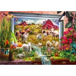 Puzzle  Bluebird-Puzzle-70029 Magic Farm Painting