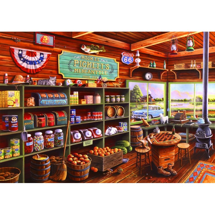 a67a35f0f015 Jigsaw Puzzle - Country  USA and Canada - Jigsaw Puzzle.co.uk