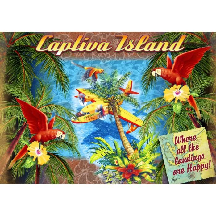 Parrot Palm Clipper