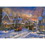 Puzzle  Bluebird-Puzzle-70113 Small Town Christmas