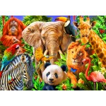 Puzzle  Bluebird-Puzzle-70187 Animals for kids
