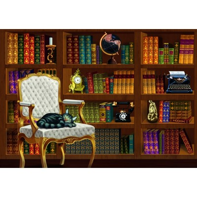 Puzzle Bluebird-Puzzle-70225 The Vintage Library