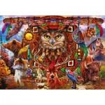 Puzzle  Bluebird-Puzzle-70257-P Animal Totem