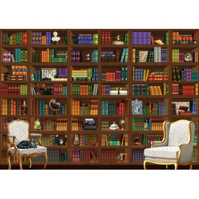 Puzzle Bluebird-Puzzle-70274 The Vintage Library