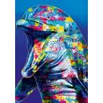 Puzzle  Bluebird-Puzzle-70302-P Dolphin
