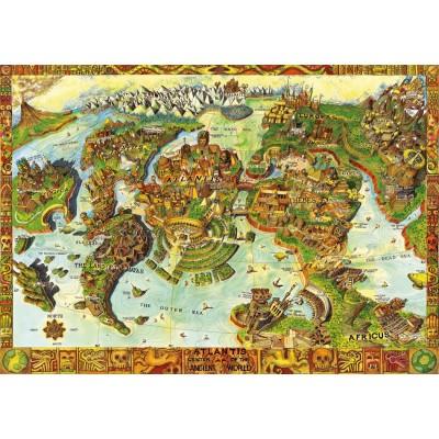 Puzzle Bluebird-Puzzle-70317-P Atlantis Center of the Ancient World