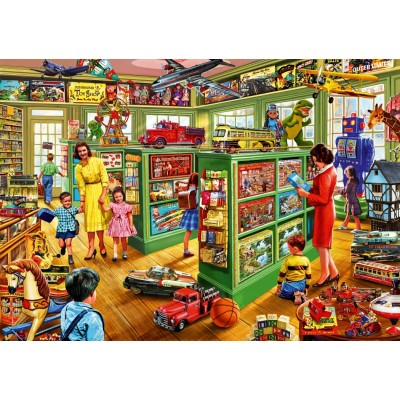 Puzzle Bluebird-Puzzle-70324-P Toy Shop Interiors