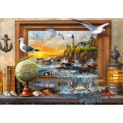 Puzzle Bluebird-Puzzle-70346-P Marine to Life