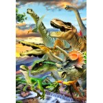 Puzzle  Bluebird-Puzzle-70374 Dino Sunset
