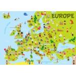 Puzzle  Bluebird-Puzzle-70380 Europe