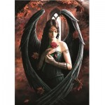 Puzzle  Bluebird-Puzzle-70437 Anne Stokes - Angel Rose