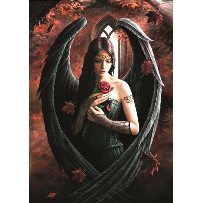 Anne Stokes - Angel Rose