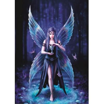 Puzzle Bluebird-Puzzle-70438 Anne Stokes - Enchantment