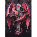 Puzzle  Bluebird-Puzzle-70439 Anne Stokes - Gothic Guardian