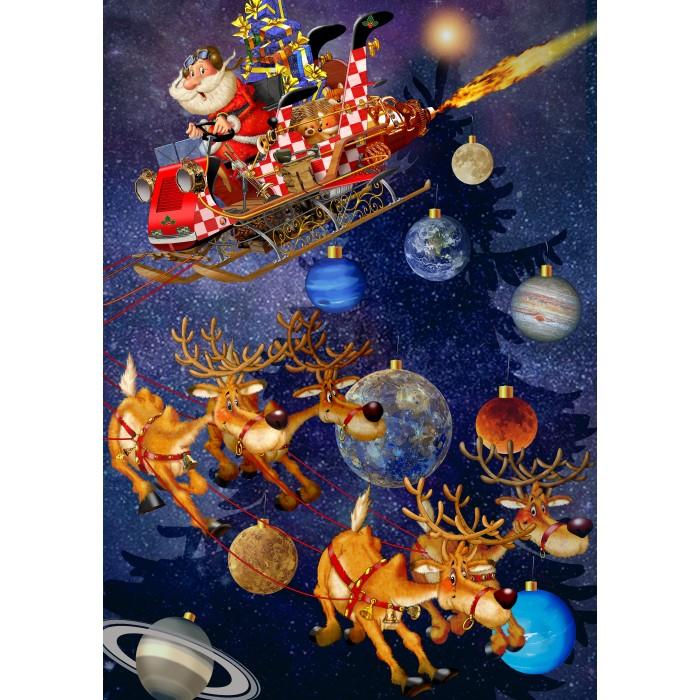 Santa Claus is arriving!