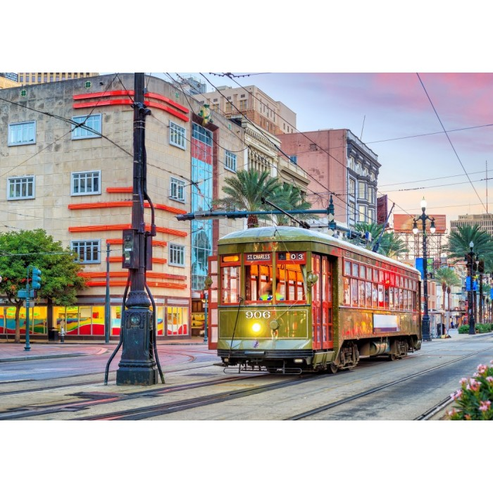 Tramway, New Orleans, USA