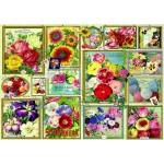 Puzzle  Bluebird-Puzzle-70474 Flower Pictures