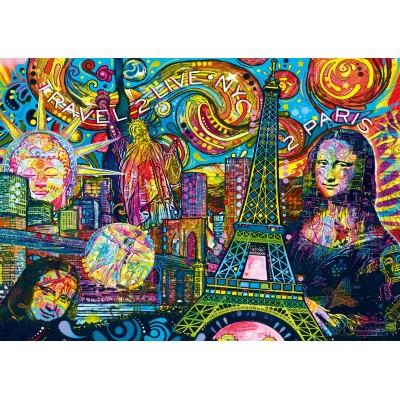 Puzzle Bluebird-Puzzle-70496-P Iconic Travel