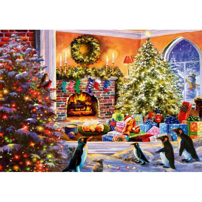 A Magical View to Christmas Puzzle 1000 pieces