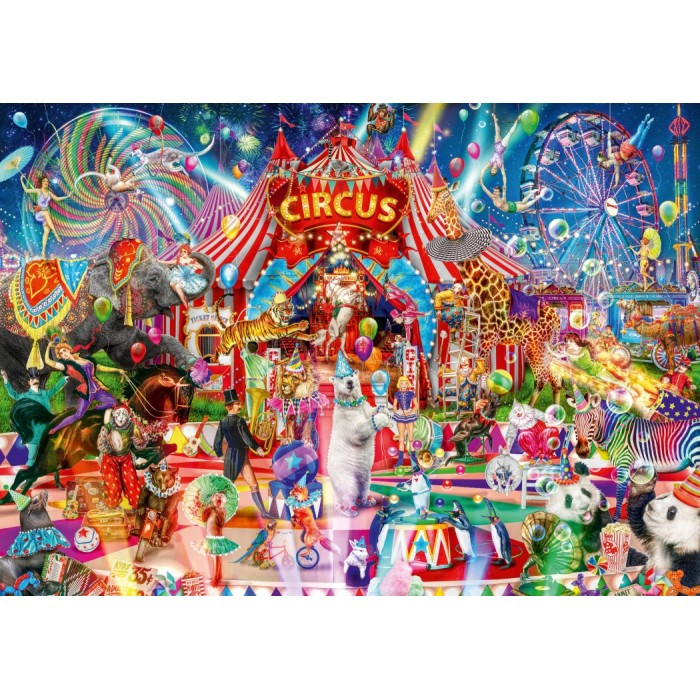 A Night at the Circus Puzzle 1000 pieces