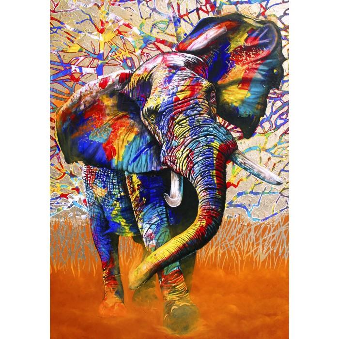 African Colours Puzzle 1500 pieces