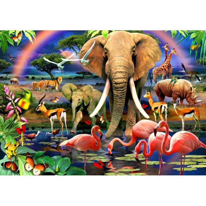 African Savannah Puzzle 1500 pieces