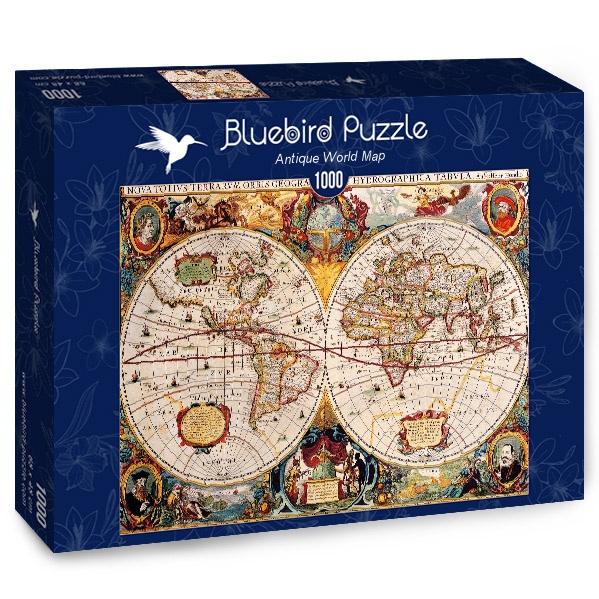 en français Maps Carte International Puzzle du Monde 1000 Pièces 68x48 cm
