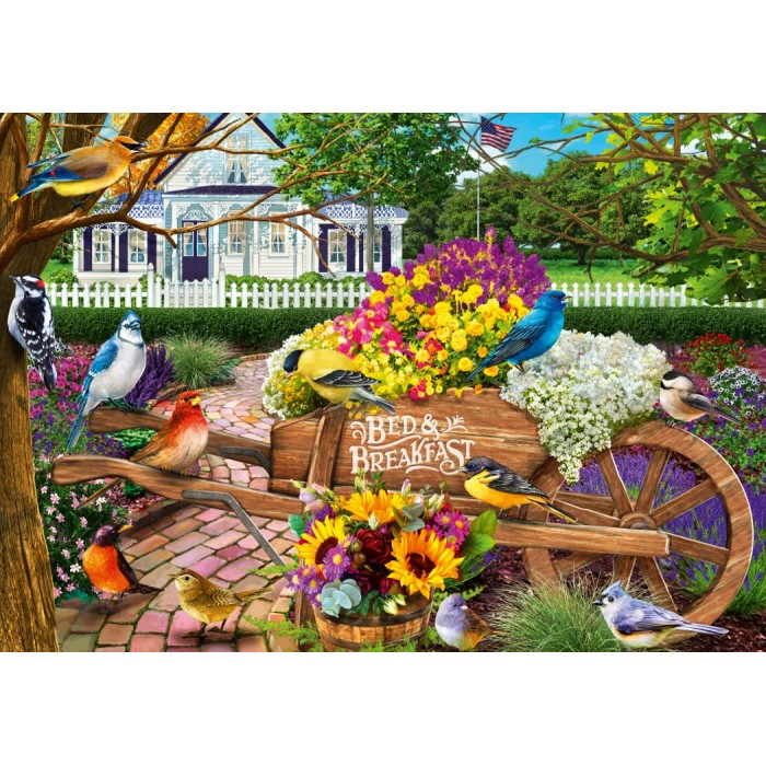Bed & Breakfast Puzzle 1000 pieces