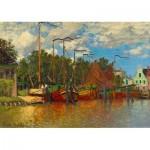Puzzle   Claude Monet - Boats at Zaandam, 1871