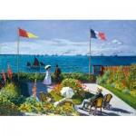 Puzzle   Claude Monet - Garden at Sainte-Adresse, 1867
