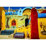 Puzzle   Colorful African Village