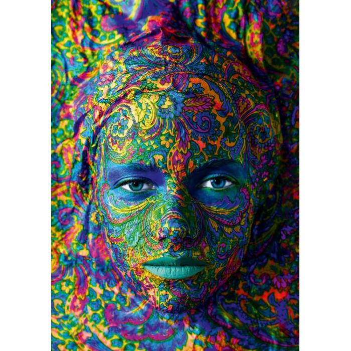 Face Art - Portrait of woman