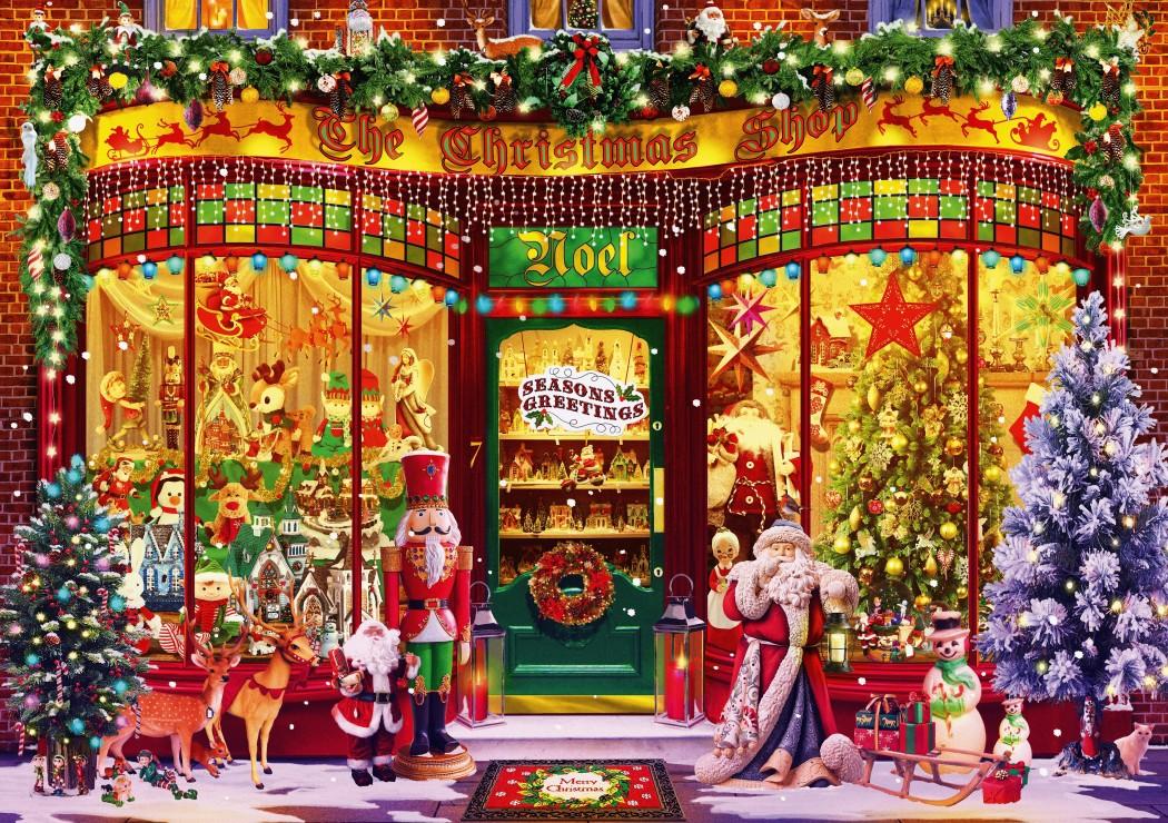 Festive Shop 1000 piece jigsaw puzzle
