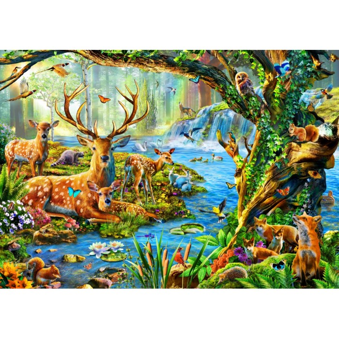 Forest Life Puzzle 1500 pieces