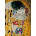 Puzzle   Gustave Klimt - The Kiss (detail), 1908