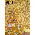 Puzzle   Gustave Klimt - The Waiting, 1905