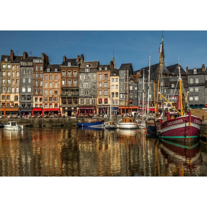 Honfleur, France Puzzle 1500 pieces