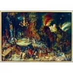 Puzzle   Jan Brueghel the Elder - Allegory of Fire, 1608