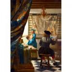 Puzzle   Johannes Vermeer - Art of Painting, 1668
