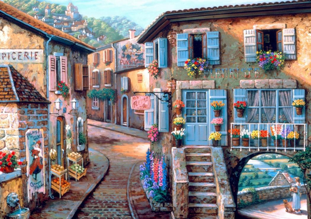 Le Fleuriste 1000 piece jigsaw puzzle