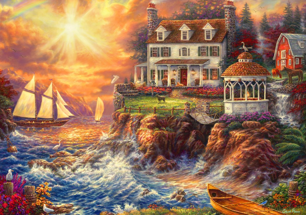 Life Above the Fray 1000 piece jigsaw puzzle