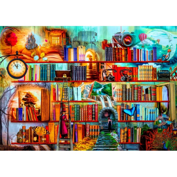 Mystery Writers Puzzle - 1500 pieces